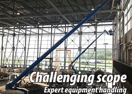equipment handling