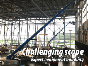 expert equipment handling