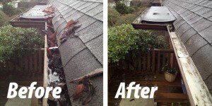 The Difference Between Gutter Cleaning By Hand And By Vacuum