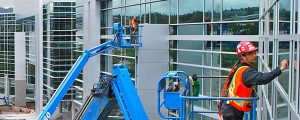 Professional Window Cleaning of Commercial property