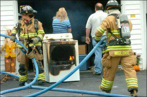 a burnt dryer