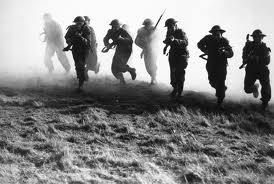 a photo of a war