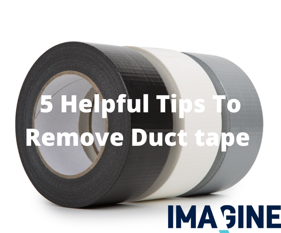 5 Ways To Remove Duct Tape Glue