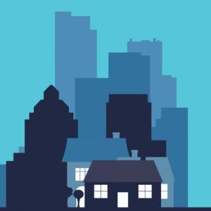 Imagine a beautiful neighbourhood