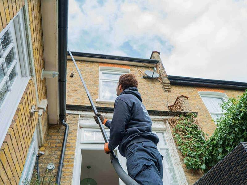 Gutter Cleaning Methods